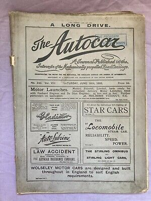 THE AUTOCAR JUNE 14th 1902
