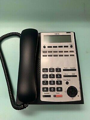 Nec Sl1100 Phone Ip4ww-12txh-b-tel 1100061 Black - Tested By Certified Nec Tech