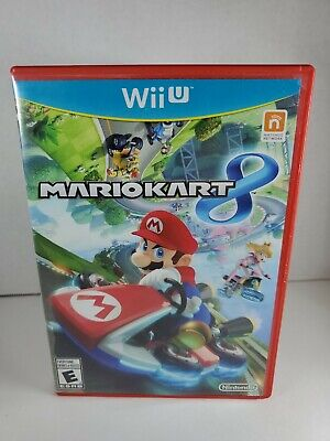 Mario Kart 8, CIB, Very Good Condition, Cleaned, Tested (Nintendo Wii U, 2014)