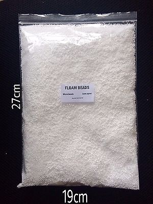 Micro beads for Floam Slime -   Extra Small Mini Polystyrene balls