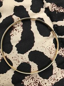 Solid gold bangle Rathmines Lake Macquarie Area Preview