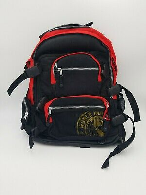 Vintage World Industries Backpack Skateboards Red and Black