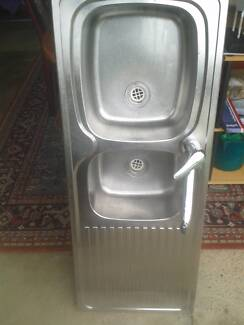 $20 Stainless Steel Kitchen Sink with Tap