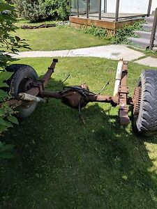 1980's Chevy 1 Ton Rear Axle & differential