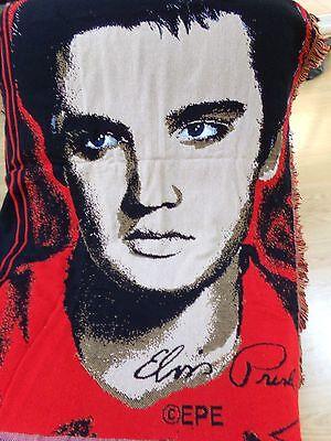 Northwest Acrylic Throw - Elvis Presley Throw Blanket 100% High Bulk Acrylic Northwest Company USA Made