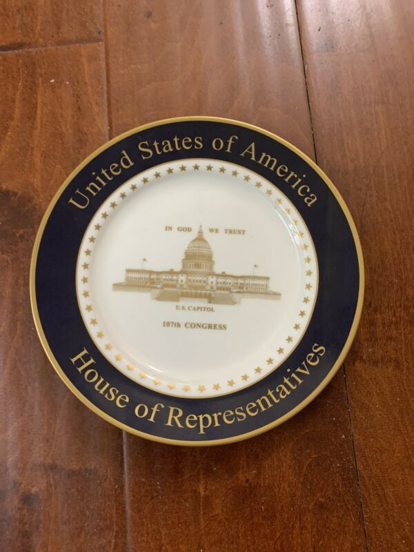 United States of America House of Representatives Plate 108th Congress 2003-2005
