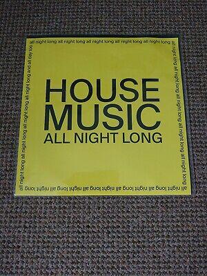 "JARV Is - House Music All Night Long 12"" Yellow Ltd Vinyl New"