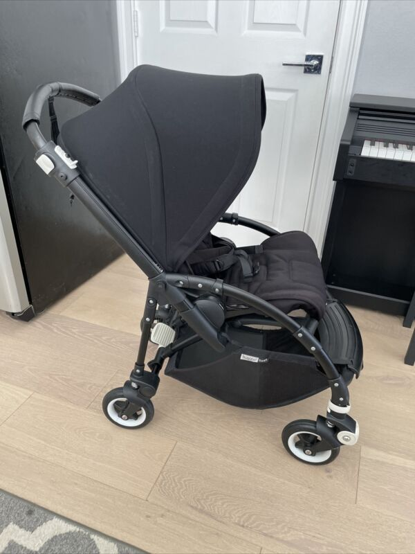 Bugaboo Bee 5 Complete All Black Stroller With Accessories