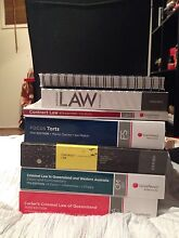 First/Second Year Law Text Books Paradise Point Gold Coast North Preview