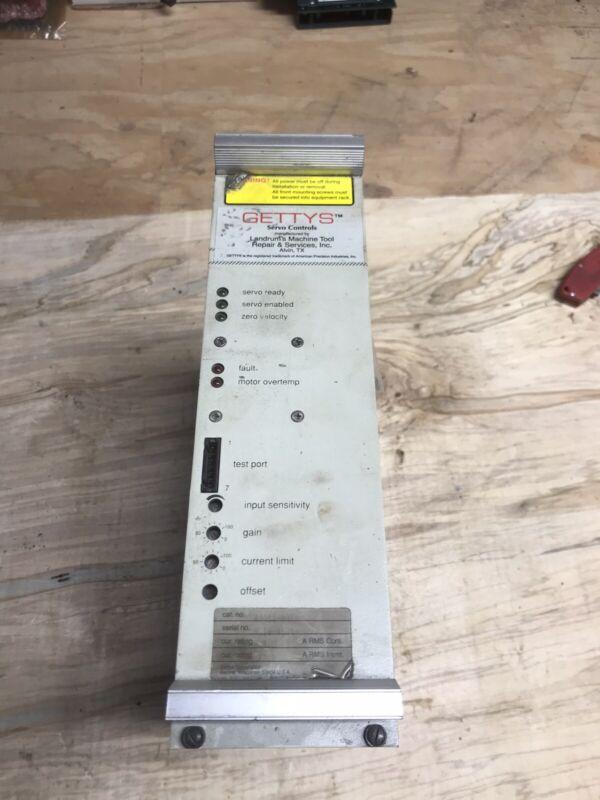 Gettys Aeg A3015-A01 SERVO Controls