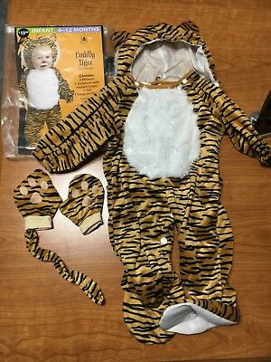 Cuddly Tiger Infant Costume (6-12 months)](Baby Tiger Costumes)