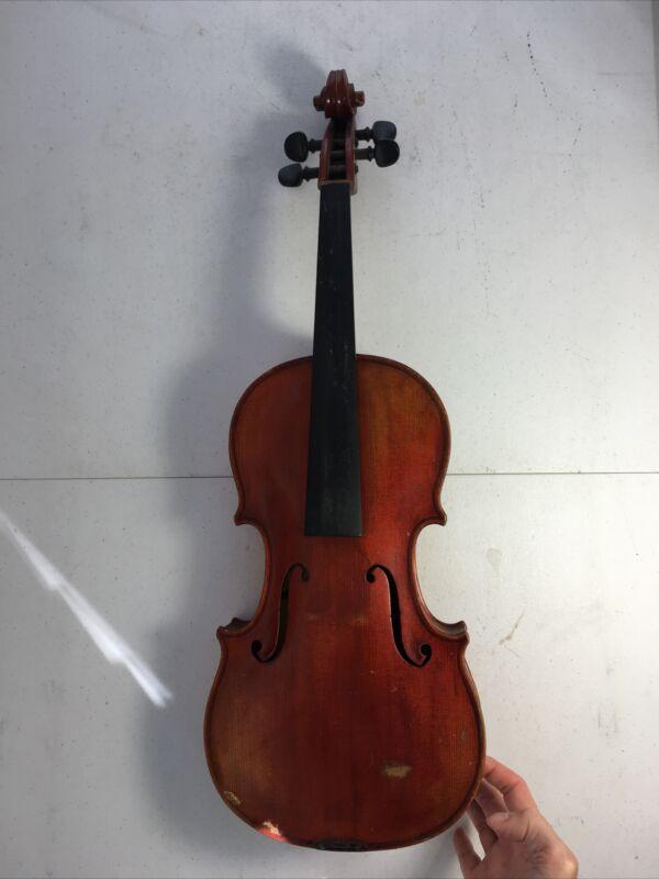 JOHN JUZEK Violinmaker Formerly in Prague Hand-Signed Antique VIOLIN VIOLA  #9