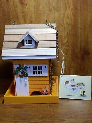 Home Bazaar Architectural Birdhouse Feeder Fall Autumn Cottage Garden Home Decor