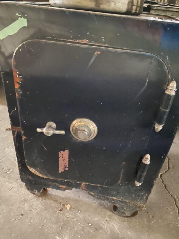 Antique Iron Safe, Original Paint, Diebold of Ohio Without Combination