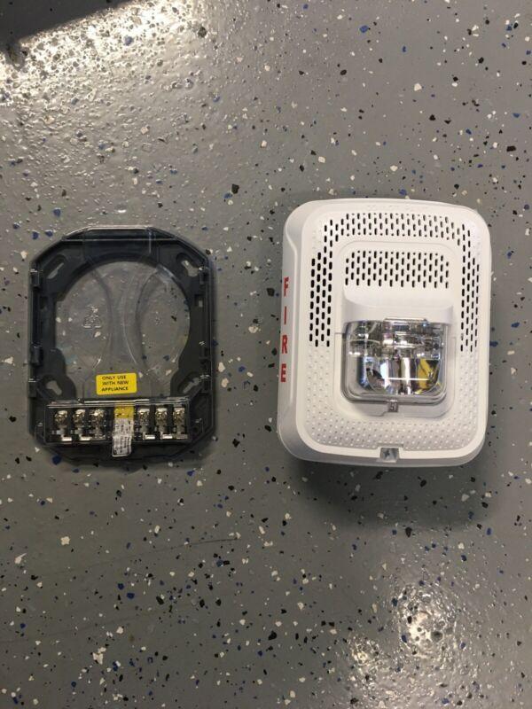 F- SPSWL--SYSTEM SENSOR--White Wall Speaker Strobe