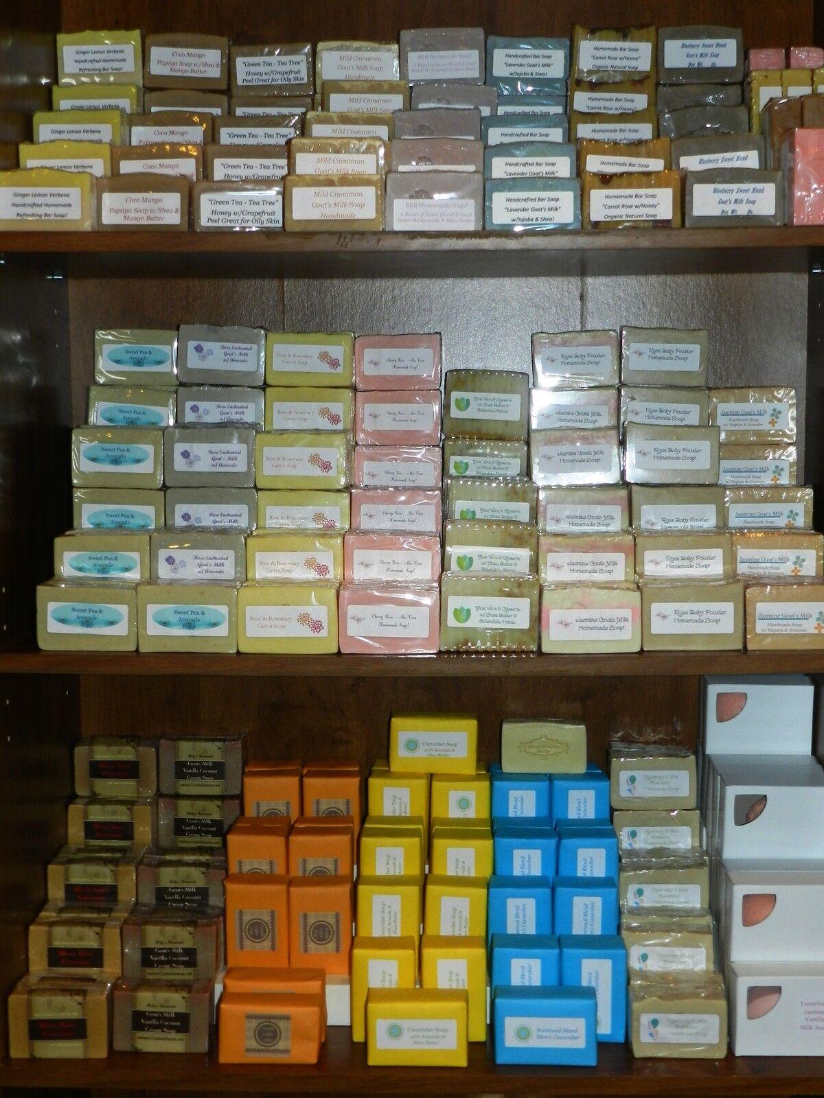 Handmade Soaps & Skincare Essential