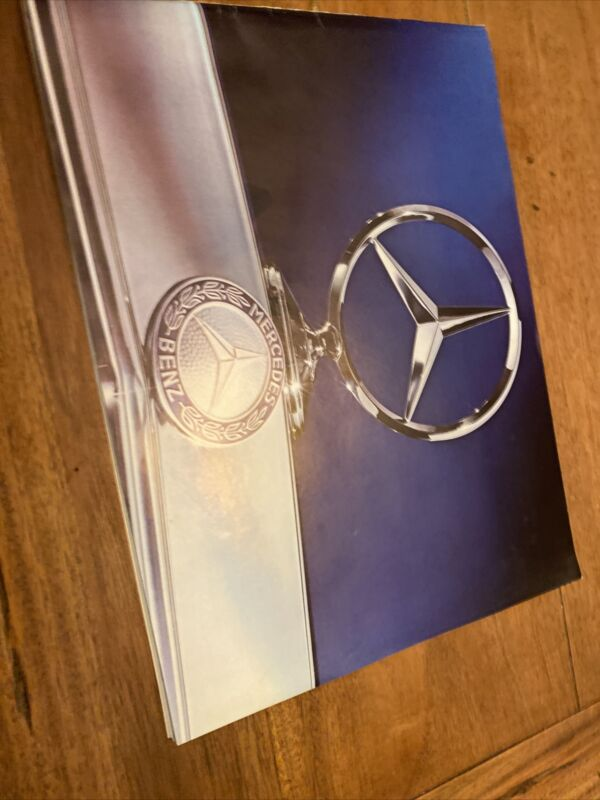 Vintage 1975 Mercedes Benz Car Dealer Brochure/Full Color!