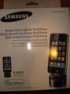 Samsung HT-WDC10/XAA Wireless iPod/iPhone Repair and Cradle- BRAND NEW IN BOX!!!