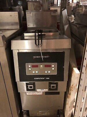 Henny Penny Gas Open Fryer Model Ofg-321- Computron 1000