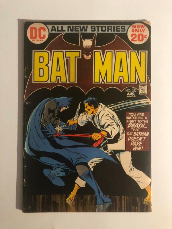 Batman 243 1st Appearance of the Lazarus Pit