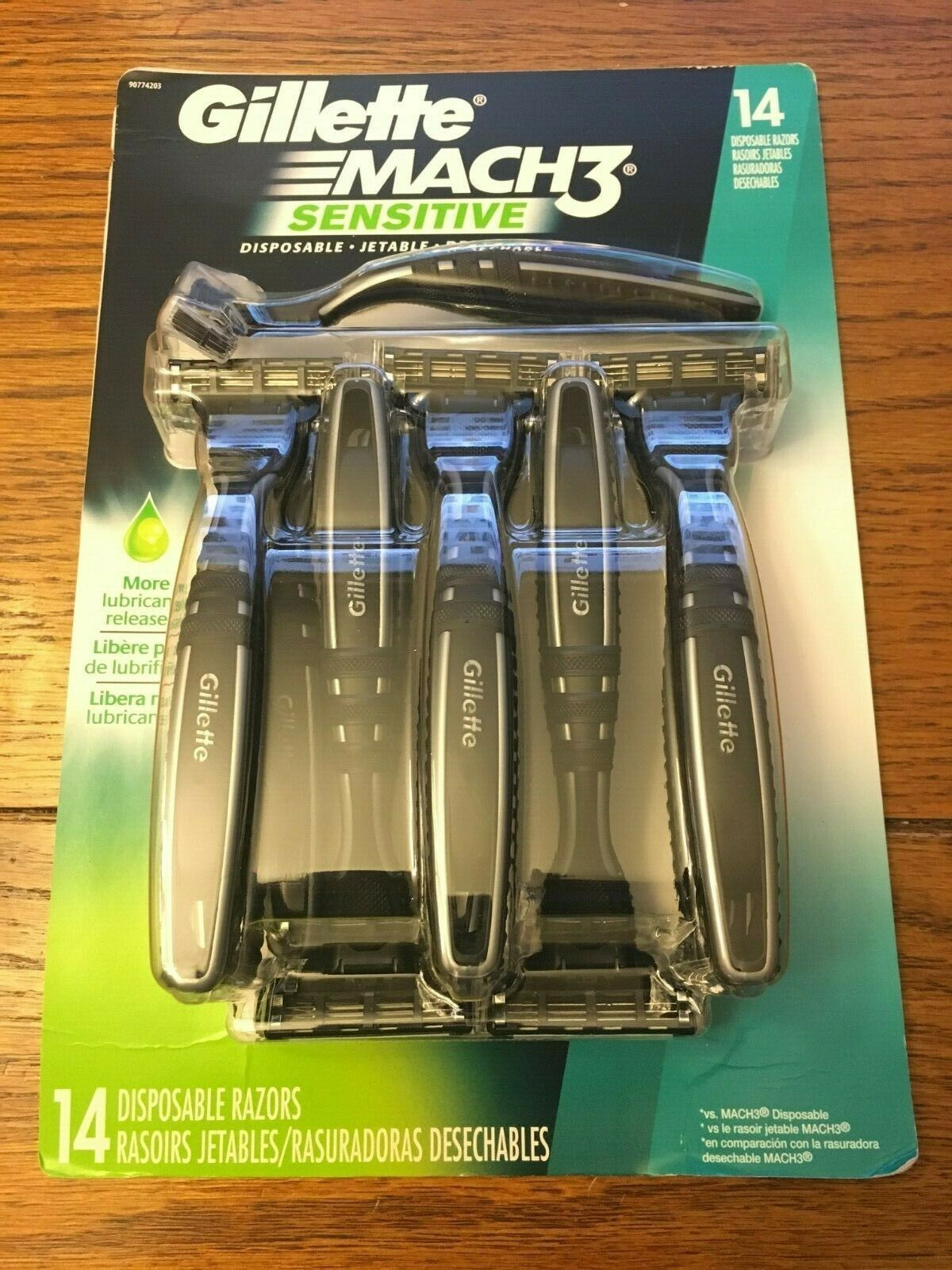 Gillette MACH3 Disposable Razor 14 count