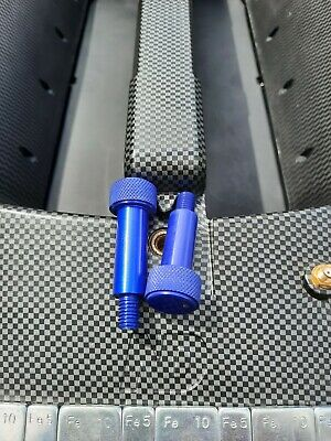 UPGRADE Blue Anodized Aluminum Securing Bolts to fit ND2 Bait Boat Handle