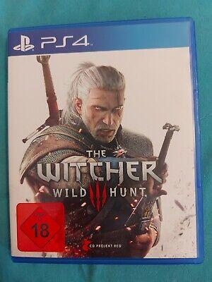 PS4 Spiel The Witcher Wild Hunt