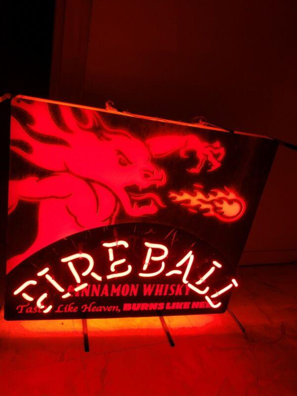 Fireball led sign