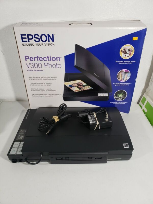 Epson Perfection V300 Photo Flatbed Scanner