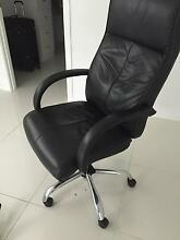 Leather black office chair Cleveland Redland Area Preview