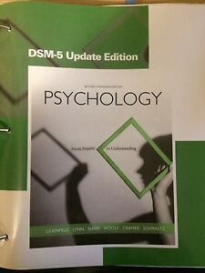 Psychology From Inquiry to Understanding second edition