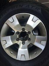 "Nissan patrol alloy wheels 17"" x5 Calamvale Brisbane South West Preview"