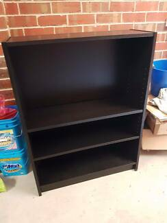 Dark Wood Bookshelf