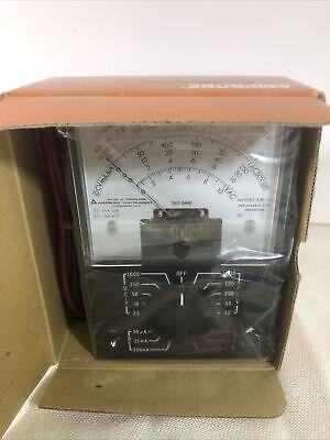 Vintage Amprobe Digital Industrial Multimeter Am-2a W Leads New In Box