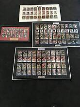 St Kilda Football Club | 4 Limited Edition Framed Player Cards Clarence Gardens Mitcham Area Preview