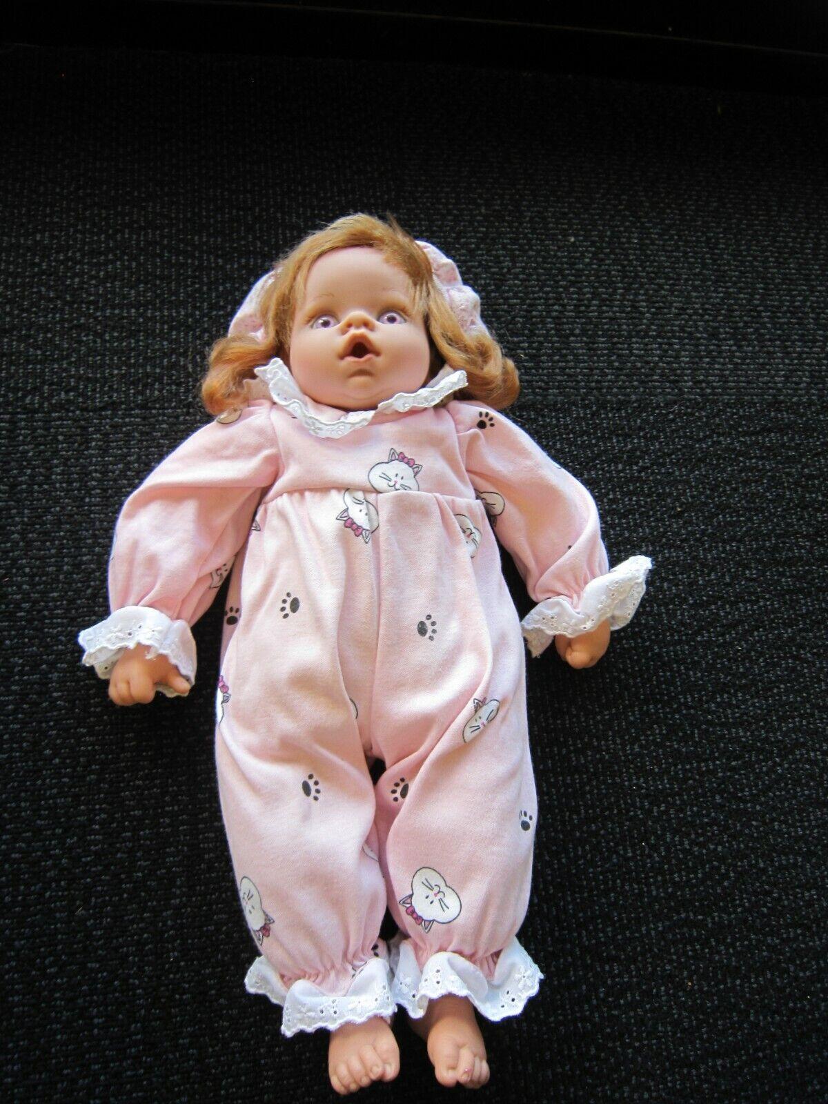 Lee Middleton Reva Original Doll - 17 2000 Rare Pink Eyes - $39.95