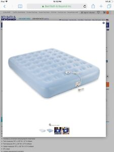 Aerobed air mattress bed