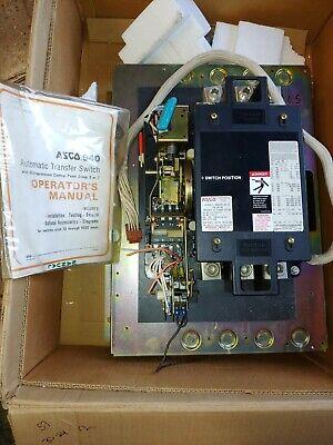 Asco 400 Amp Transfer Switch 940 Series 480277 Volt