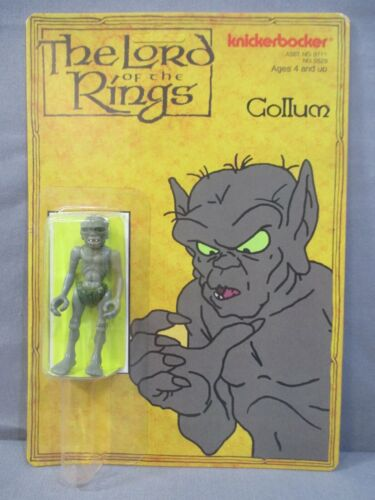 Lord Of The Rings GOLLUM Action Figure Vintage Kinckerbocker 1979 +REPRO PACKAGE