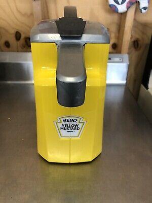 Heinz Keystone Mustard Pump Station Server Condiment Dispenser 8694
