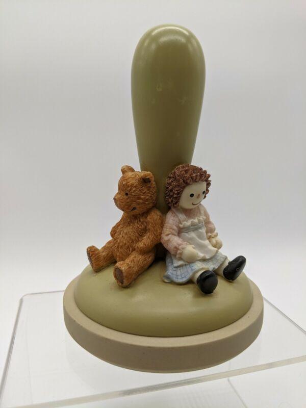 Brown Bag Cookie Art 1998 Friends Cookie Press Stamp #25 Teddy Bear Raggedy Ann