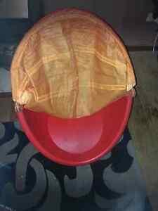 Kids swivel egg  chair with cover must go Huntfield Heights Morphett Vale Area Preview