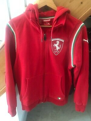Puma Ferrari zip up Hoody