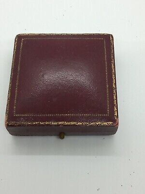 vintage antique jewellery Faux Leather Box For Brooch Or Pendants Edinburgh