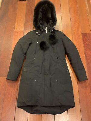 Moose Knuckles Black Coat M