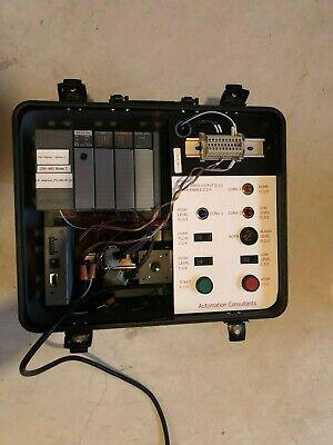 Allen Bradley Slc 504 Plc Trainer - More Than 8 Allen Bradley Components