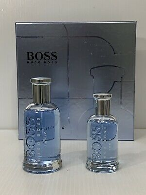 BOSS BOTTLED TONIC BY HUGO BOSS MEN COLOGNE GIFT SET SPRAY 3.3 OZ + 1.6 OZ NIB Hugo Gift Set Cologne