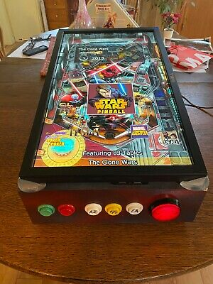 Virtual Pinball Machine with 70 Pinball FX games