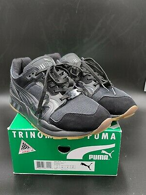 Puma XT2 White On White Black-Black Size 9