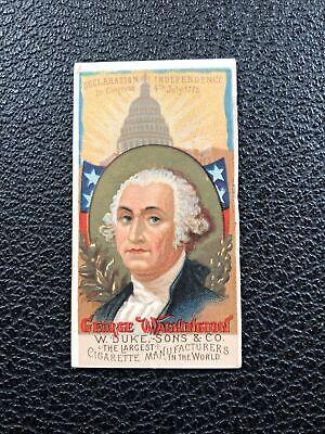 N76 Duke Great Americans Set Break George Washington